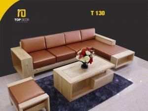 Sofa gỗ hiện đại T130 ,5