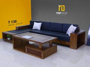 Sofa gỗ hiện đại T130 ,3