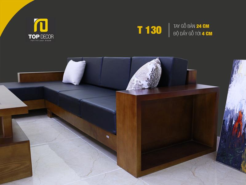 Sofa gỗ hiện đại T130 ,2
