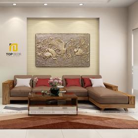 Sofa gỗ cao cấp T167